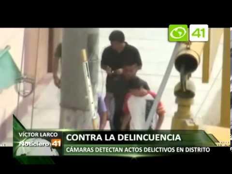 Cámaras de seguridad de Victor Larco detectan actos delictivos en el distrito   Ozono Tv