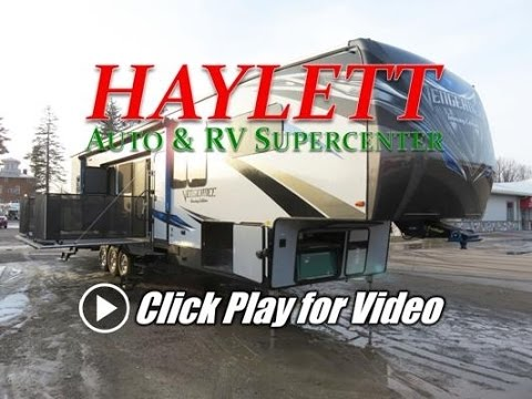 HaylettRV - 2018 Vengeance Touring Edition 40D12 Dual Patio Deck Toy Hauler Luxury Fifth Wheel