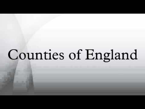 Counties of England  YouTube