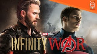 Captain America is More Dangerous Than Ever Before in Avengers Infinity War