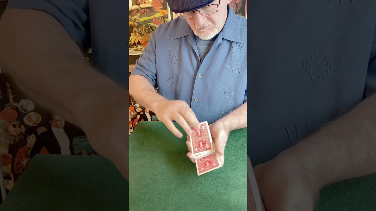 Time Warp Transposition Card Trick #shorts