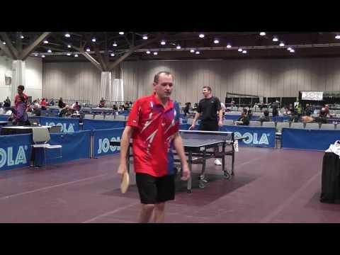 2012 FASTT Sandpaper Nationals Semis - Runyan vs Hoff