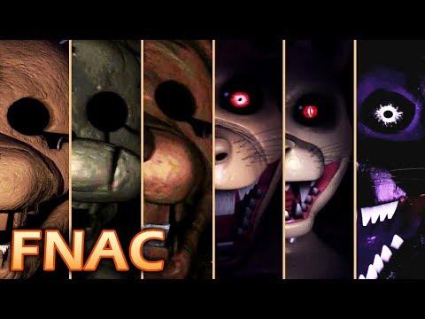 Evolution of FNAC Jumpscares (2015-2017)