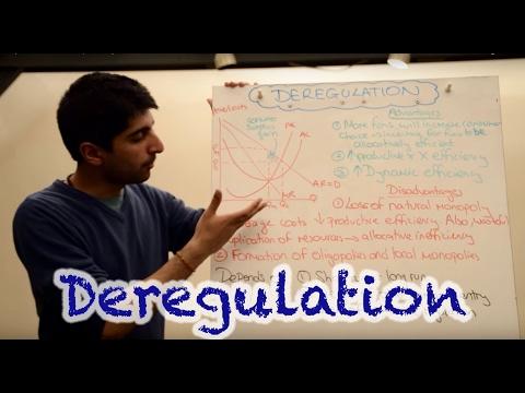 Y2/IB 28) Deregulation