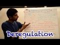 Y2 30) Deregulation