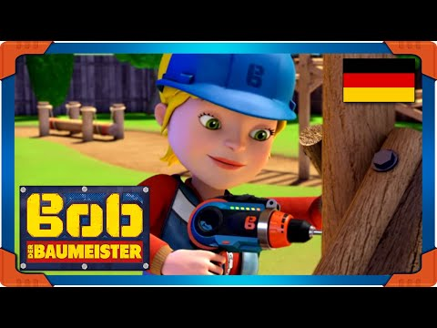 Bob der Baumeister Deutsch Ganze Folgen   Weltmeister Baggi - den Fitnesstest beenden ⭐Kinderfilm