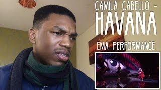 Camila Cabello - Havana | MTV EMA 2017 Performance REACTION