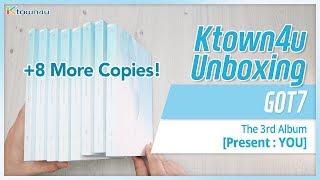 Baixar [Ktown4u Unboxing] GOT7 - Present: YOU - Unboxing 8 more copies!!