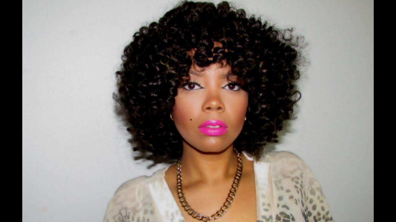 Crochet Braids Vs Wigs : CROCHET BRAID WIG Using Harlem 125 Harlem Braid - YouTube