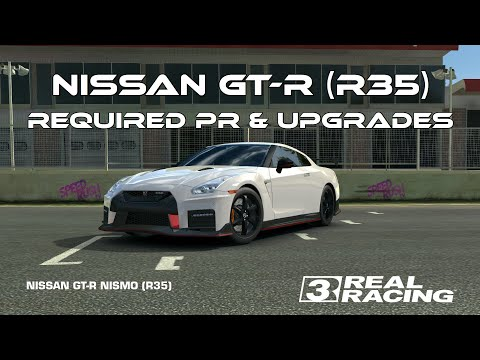 Real Racing 3 GT-R NISMO (R35) Championship Required PR And Upgrades RR3