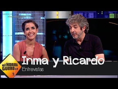 Ricardo Darín confiesa cómo es besar a Inma Cuesta  El Hormiguero 3.0