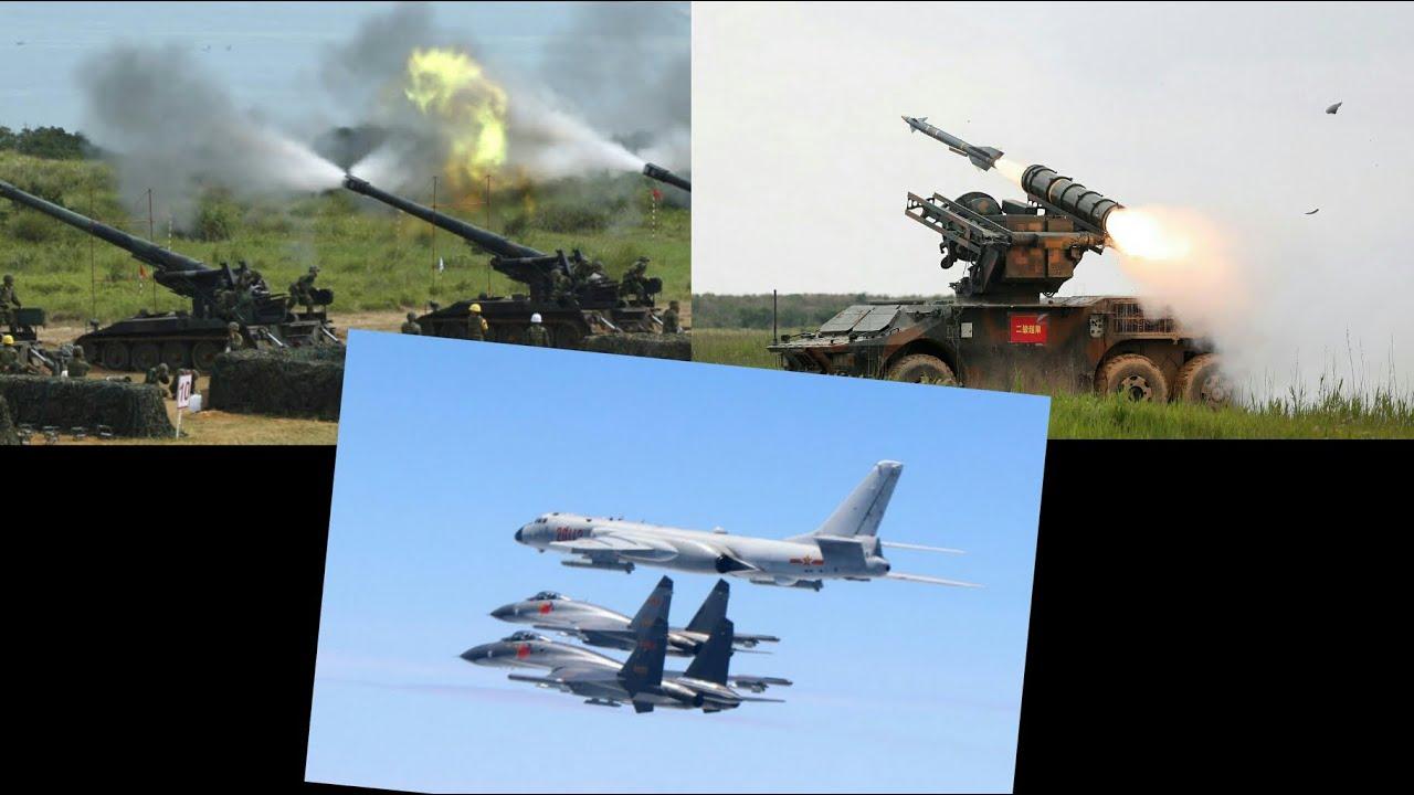 Temendo o pior - China realiza exercício de defesa antiaérea