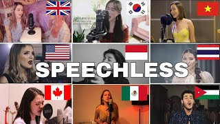 Who Sang It Better : Naomi Scott - Speechless(us,uk,canada,vietnam,mexico)