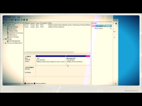 How To Create A Recovery Partition In Windows 8