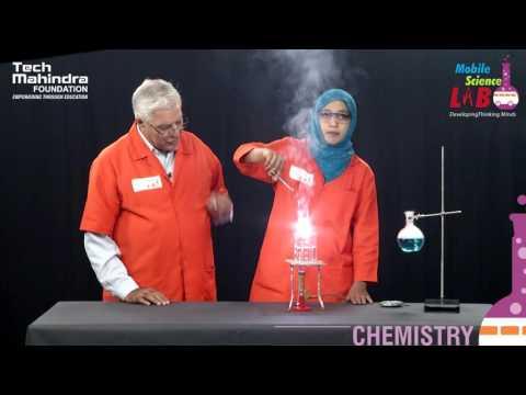 Continuous Burning Of Magnesium Ribbon In Steam