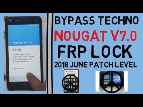 All Tecno Bypass FRP Lock On Android V7 0 Without Pc