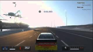 gt5 hacked nascar 1900 hp 542 kmh nascar hybrid car gt5 speed hack