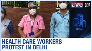 Health care workers wear black…
