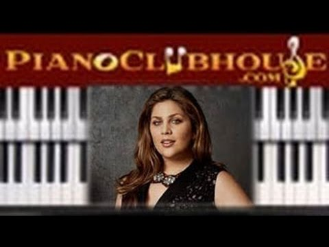 🎹  THY WILL - Hillary Scott (easy christian piano tutorial lesson)
