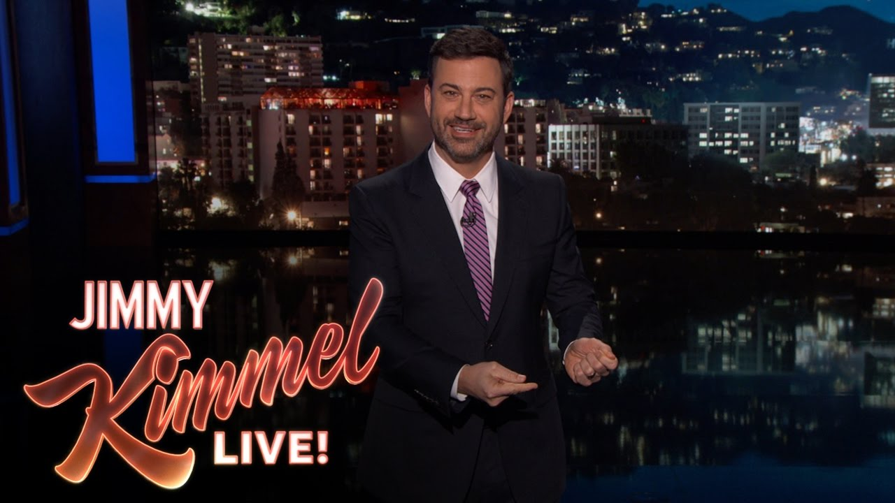 Jimmy Kimmel Explained Story of Christmas to His Daughter - YouTube