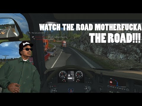 Euro Truck Simulator 2 Multiplayer - Idiots On The Road With MEMES Pt 1