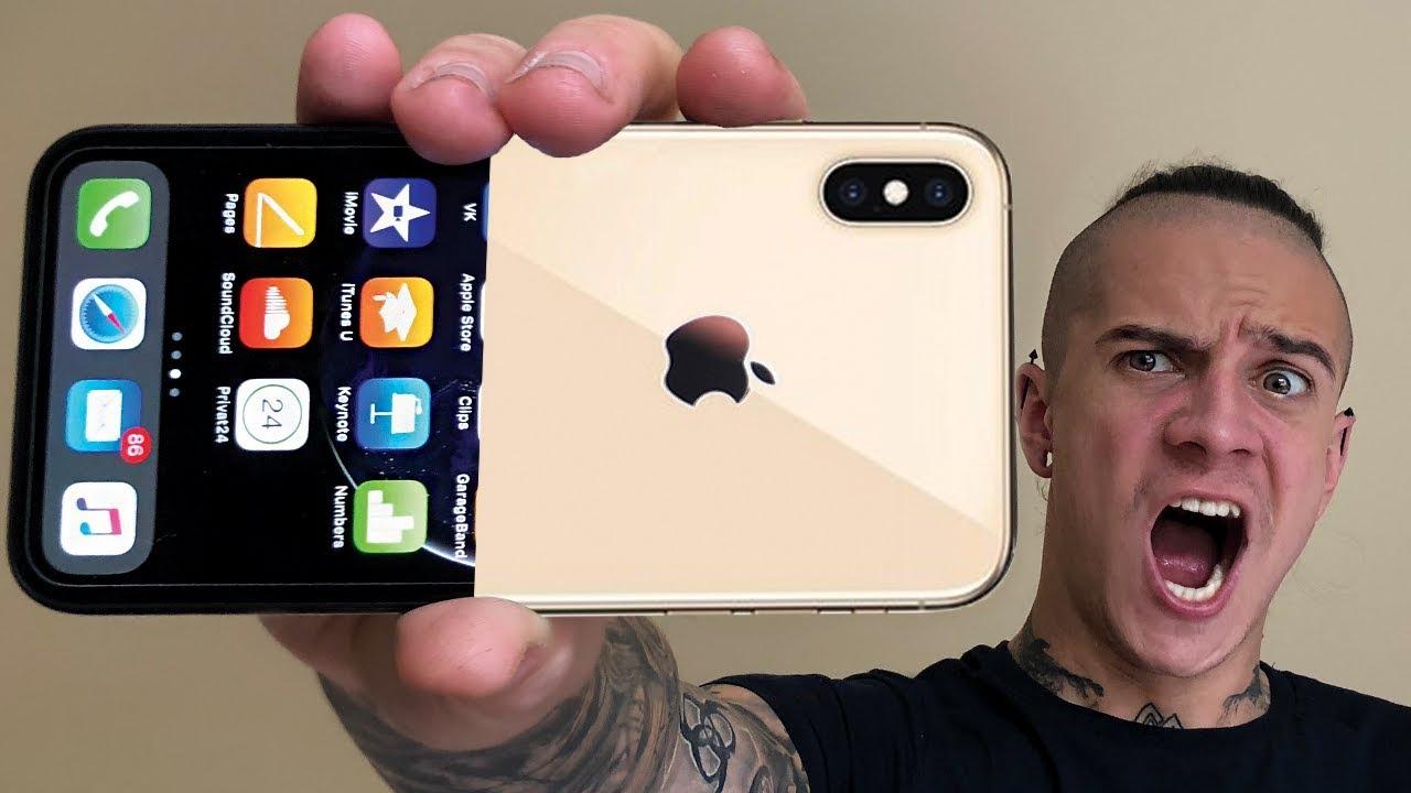 ЛУЧШИЕ ФОКУСЫ С iPHONE XS MAX | НОВЫЕ ФУНКЦИИ