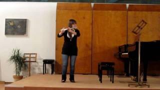 """""""Piece pour flute seule""""_ J. Ibert"""