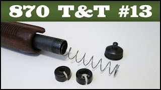 Upgrading A Press-in Spring Retainer - Remington 870 Tips & Tricks #13