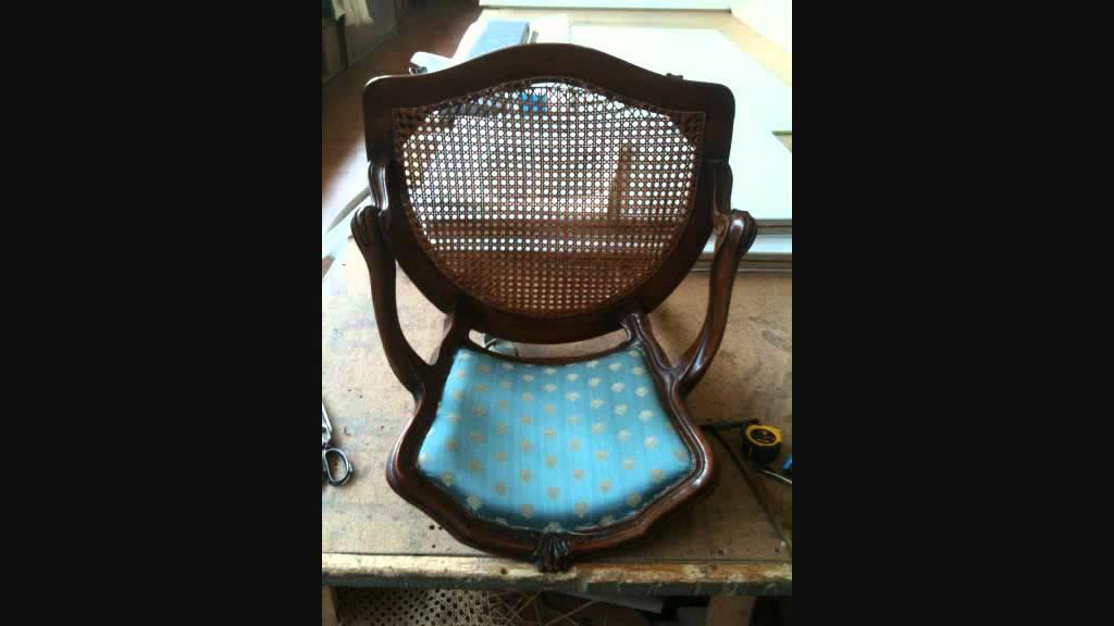 Favorito restauro di antiche sedie da salotto - YouTube SG28