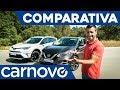 Toyota RAV4 vs Nissan Qashqai - Comparativa / Opinión / Review / Prueba / Test en español | Carnovo