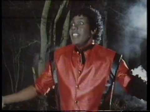 Lenny Henry in Michael Jackson Thriller spoof