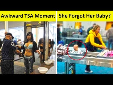 The Most WTF Things Seen At The Airport NEW PICS!!