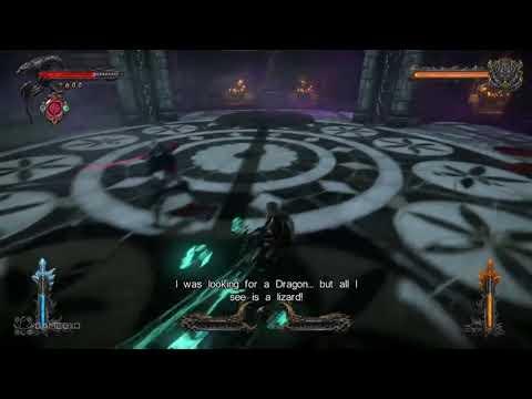 Castlevania Lords of Shadow 2 Revelations DLC Ending - Zobek's Lieutenant - Final Boss - HD |