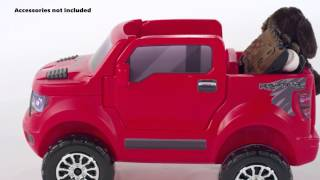 step2 2 in 1 ford f 150 svt raptor push buggy ride on red