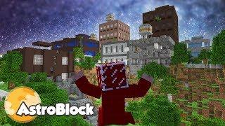 GDZIE SĄ MIESZKAŃCY? - Minecraft Astroblock