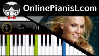 Cascada - Everytime We Touch [Slow Acoustic Version] - Piano Tutorial