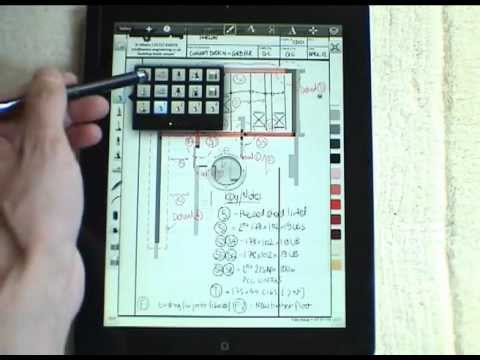 iPad - Sketchbook Pro App [Review], how Engineers and Architects can use this great tool