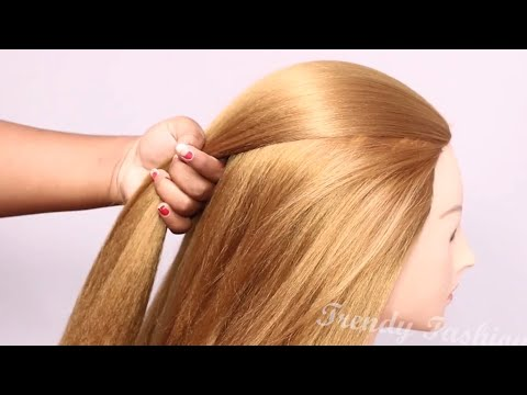 Very Easy New Party hairstyle for ladies: Hair Style Girl, Trending Hairstyles #judahairstyles #hair