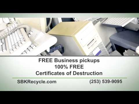 SBK Recycle Free Computer Recycling   Seattle, Tacoma And Beyond