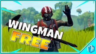 Fortnite - NEW Starter Pack FREE! New Wingman Skin Fortnite Battle Royale!