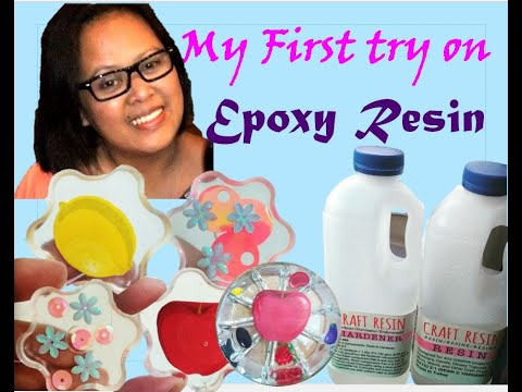 Easy and simple epoxy resin project for a beginner