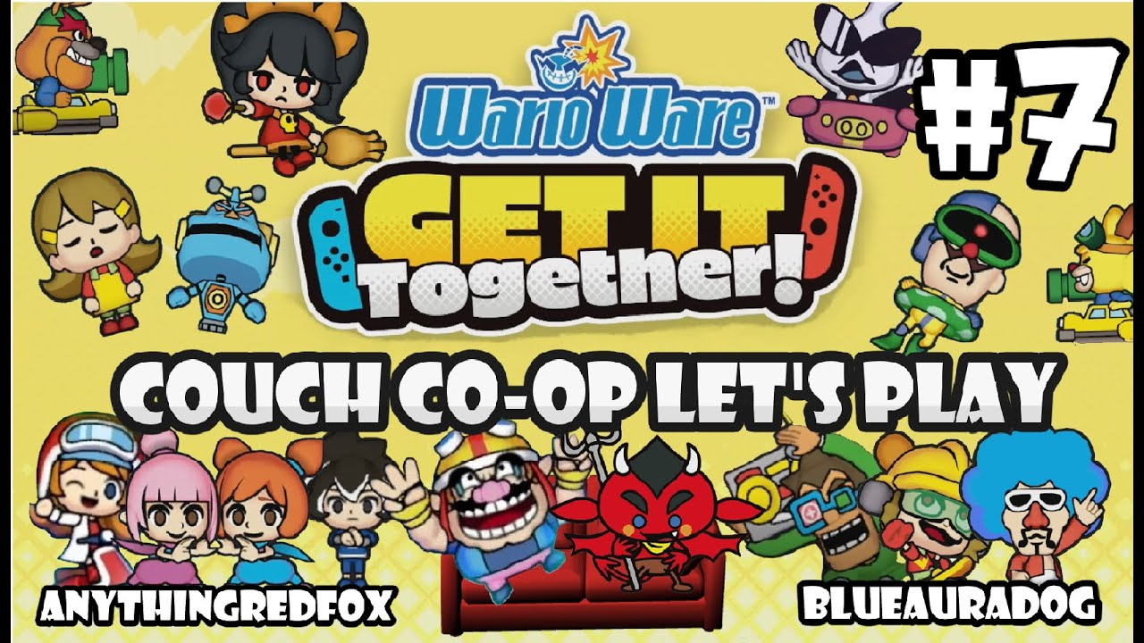[Let's Play] [Couch Co-Op] WarioWare: Get It Together! PART 7: The Final Boss! [Nintendo Switch