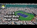 2019 Indian Wells Draw Show | Coffee Break Tennis