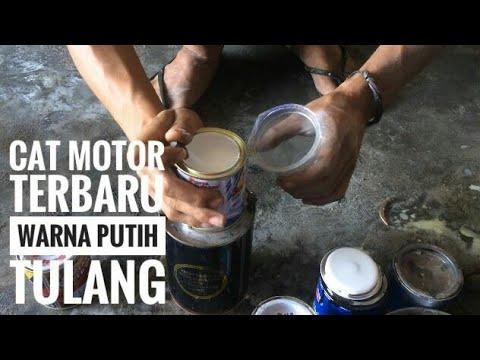Cat Motor Warna PUTIH TULANG part 1