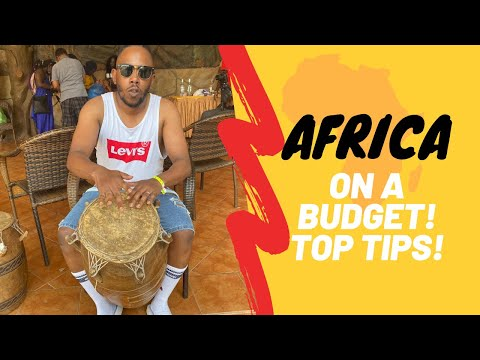 HOW TO TRAVEL TO AFRICA ON A BUDGET!   TOP 5 TRAVEL TIPS   MUST KNOW!