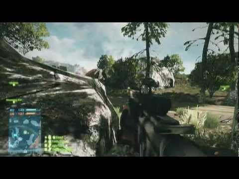 Battlefield 3, Team Deathmatch on Caspian Boarder (DadsArmy server)