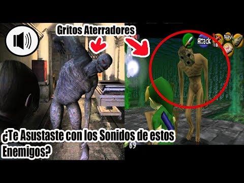 Top 5 Sonidos De Enemigos Mas Perturbadores De Los Videojuegos