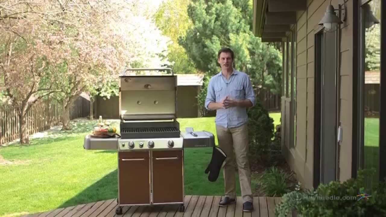 weber genesis e330 gas grill propane product review video youtube