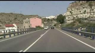 N-340a Almería , Zona Desierto De Tabernas / Tabernas Desert - Highways In Spain