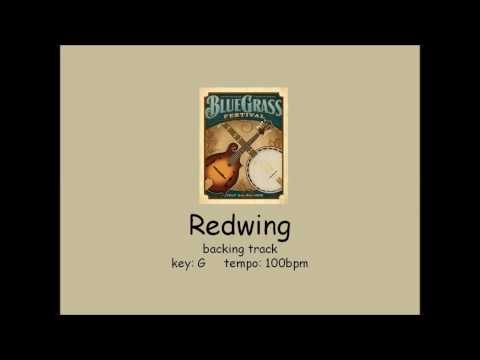 Redwing - bluegrass backing track